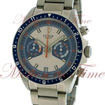 Tudor Heritage Chronograph Blue, Grey/Blue Dial - Stainless...