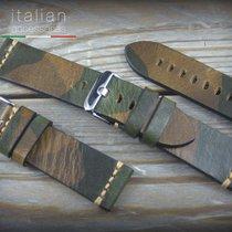 Cinturino in pelle di bufalo 24 mm Vintage ILLINOIS Leather...