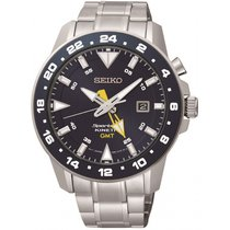 Seiko Sportura Kinetic GMT Herrenuhr SUN017P1