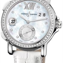 Ulysse Nardin GMT Big Date 37mm Diamond Stainless Steel...