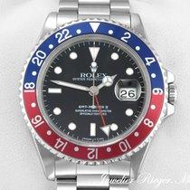 Rolex GMT MASTER II PEPSI STAHL 16710 AUTOMATIK