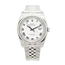 勞力士 (Rolex) Datejust White Gold And Steel White Automatic...