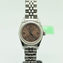 Rolex Lady Oyster Perpetual Jubilee Fluted 76094 Pink Salmon  ...