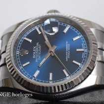 Rolex Datejust 116234 - Blue dial - Box/papers