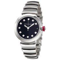 Bulgari BVLGARI Lvcea Automatic Ladies Steel Diamonds Watch