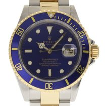 Rolex Submariner 16613 40mm Stainless Steel Yellow Gold 2005...