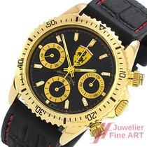 Ferrari Chronograph Herrenuhr - 18K/750 Gelbgold -Automatic...