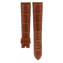 Omega Brown Crocodile Leather Strap 20mm/16mm