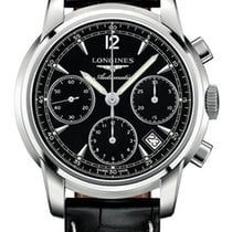 Longines Saint-Imier Chronograph 39mm Black Dial Mens Watch
