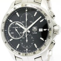 TAG Heuer Polished Tag Heuer Link Calibre 16 Chronograph...