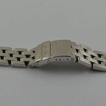 Breitling Pilotband Stahl/stahl 350a Crosswind Windrider 22mm...