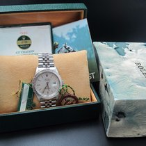 Rolex DATEJUST THUNDERBIRD 16250 Original Silver Dial FULL SET