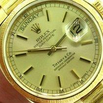 Rolex Men's President Ref 18078 Tiffany & Co Dial...