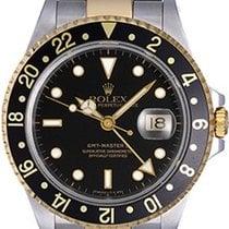 ロレックス (Rolex) GMT Master II Men's 2-Tone Watch 16713