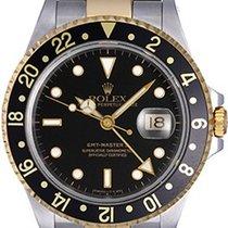 Rolex GMT Master II Men's 2-Tone Watch 16713