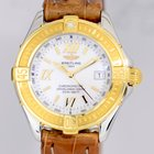 Breitling Lady B-Class Chronometer Damenuhr Gold Perlmutt MOP...