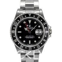 勞力士 (Rolex) GMT-Master Black/Steel 40mm - 16700