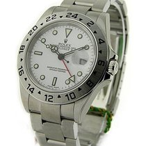 Rolex Unworn 16570 Explorer II 16570 - Steel on Bracelet with...