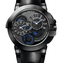 Harry Winston Ocean Dual Time Black Edition