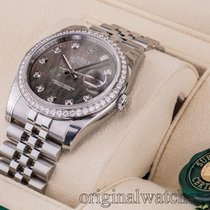 Rolex Datejust 36 Rolesor set with diamonds Jubilee Bracelet