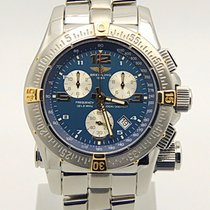 Breitling Emergency Mission Two Tone Blue Dial B73321 Serviced...