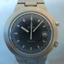 Omega vintage Chronostop jumbo blue dial mechanichal RARE for...