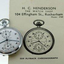 H.C Henderson - Vintage Flyback Chronograph Pocket Watch, 1963...