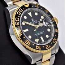 Rolex Gmt-master II 116713 Oyster 18k Y Gold /ss Ceramic Bezel...