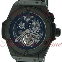 Hublot Big Bang King Power Chronograph Tourbillon, Skeleton...