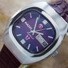 Rado Purple Horse Vintage 1960s Swiss Made Mens Watch With...