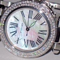 Cartier Pasha Midsize 36mm Automatic Mother Of Pearl Diamond