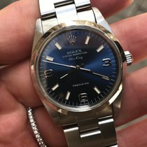 Ρολεξ (Rolex) Air king precisione 34 mm zaffiro Oyster full set