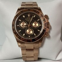 Rolex Daytona 116505 18k rose gold black dial