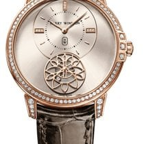 Harry Winston Midnight Diamond Second 39mm