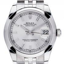 Rolex Datejust Medium Stahl Automatik Armband Jubilé 31mm Ref....