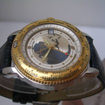 Michel Jordi Top Of The World Acciaio & Oro 18 Kt Automatic