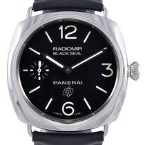 Panerai PAM00380 Radiomir Black Seal Logo Acciaio 45MM Men...