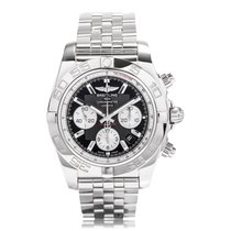 Breitling Chronomat 44 B01 Caliber Steel Mens Watch AB011012/B...