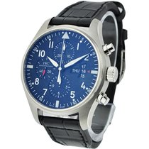 IWC IW377701 Pilots Chronograph - Classic - Stainless Steel on...