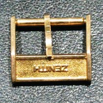 Zenith vintage rose gold plated  buckle mm 14