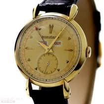 Jaeger-LeCoultre Vintage Calender Watch 14k Yellow Gold Bj-1950