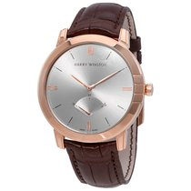 Harry Winston Midnight Retrograde Silver Dial Automatic...