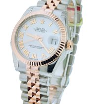 Rolex Unworn 178271 Mid Size 2-Tone Rose Gold and Steel...