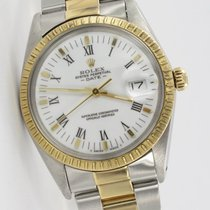 Rolex Oyster Perpetual Date Stahl / Gold 15053