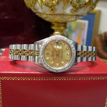 Rolex Oyster Perpetual Datejust Two-tone 18k Gold Diamond...