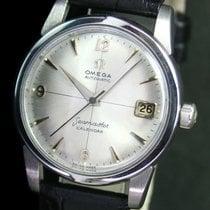 Omega Seamaster Calendar Automatic Date Steel Mens Vintage Watch
