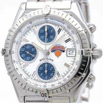 ブライトリング (Breitling) Chronomat Nba New York Knicks Steel Watch...