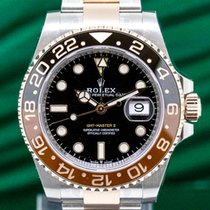 Rolex 126711CHNR GMT Master II Ceramic Root Beer SS / 18K...