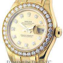 Rolex Datejust Masterpiece 18k YG Diamond Dial & Bezel