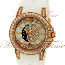 Harry Winston Ocean Ladies Moon-Phase, Mother of Pearl Diamond...
